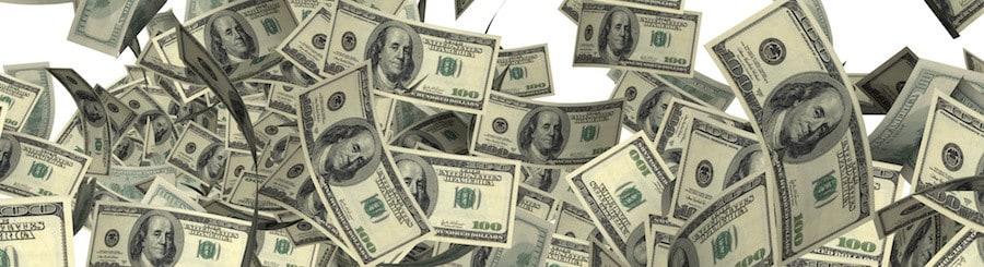 The big Firework of United States dollars