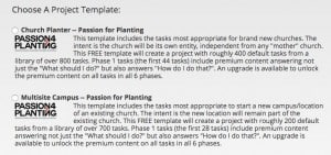 PlanterPlan Templates as of Oct 2016